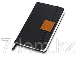 Блокнот А6 Label черный/оранжевый. Lettertone