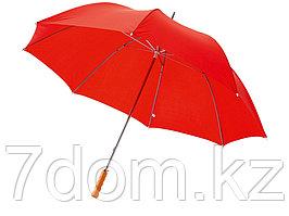 Зонт Karl 30 механический, красный (Р)