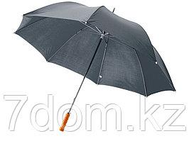 Зонт Karl 30 механический, серый (Р)