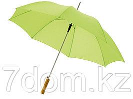 Зонт-трость Lisa полуавтомат 23, лайм (Р)
