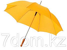 Зонт-трость Lisa полуавтомат 23, желтый (Р)