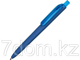 Ручка шариковая Prodir DS8 PRR софт-тач, голубой
