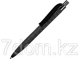 Ручка шариковая QS 01 PRP софт-тач, черный
