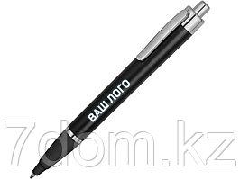 Ручка пластиковая шариковая Glow, черный/серебристый (Р)