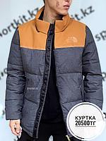 Куртка North Face TNF сер корич 639, фото 1