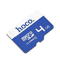 Карта памяти MicroSD 4GB TF HOCO high speed