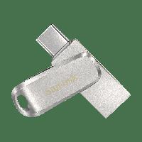 Флешка SANDISK 128GB Ultra Dual Drive Luxe USB Type-C