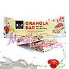 "SOJ Батончик злаковый ""GRANOLA BAR"" йогурт и клубника 40 гр./ Упаковка 20 шт."