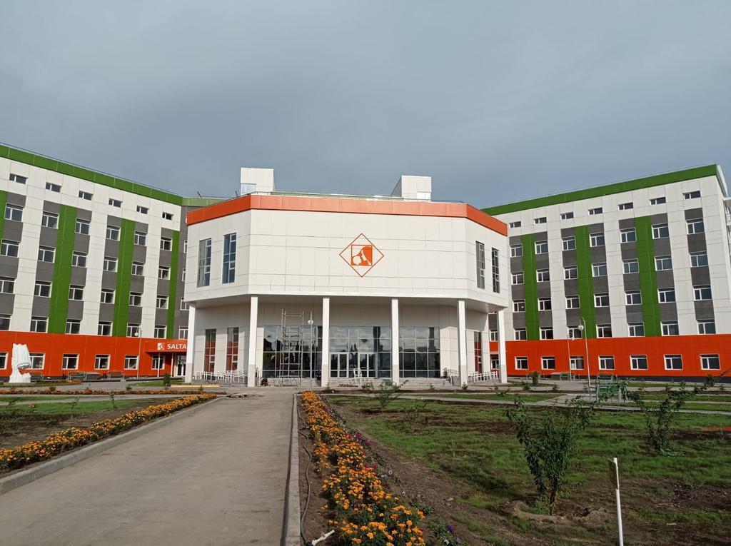 Поставка и ввод в эксплуатацию ИБП для нового перинатального центра в г. Актобе (60кВА х 4 шт. + 80кВА х 4 шт)