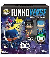 POP! Funkoverse: Настольная игра DC Comics Базовый набор 1219696