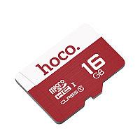 Карта памяти MicroSD 16GB TF HOCO high speed, фото 1