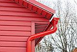Водосточная система  RUPLAST (Россия) Экслюзивный красный цвет. СКИДКА 40%   Сот./Wats App: +7 701 100 08 59, фото 3