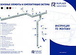 Водосточная система  RUPLAST (Россия) Экслюзивный красный цвет. СКИДКА 40%   Сот./Wats App: +7 701 100 08 59, фото 6