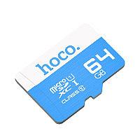Карта памяти MicroSD 64GB TF HOCO high speed