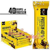 "SOJ Батончик Протеиновый 40% ""PROTEIN SOJ"" с бананом 40 гр./ Упаковка 24 шт."