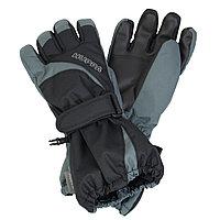 Перчатки для детей Huppa JOSH, чёрный/серый