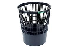 Корзина для мусора СТАММ 18 литров, сетчатая, черная