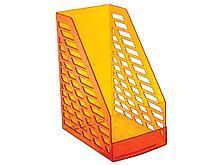 Лоток вертикальный STAMM XXL, ширина 16 см, оранжевый