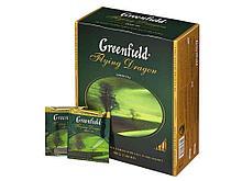 Чай Greenfield Flying Dragon китайский зеленый, 100 пакетиков
