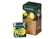 Чай Greenfield Lemon Spark черный с лимоном, 25 пакетиков