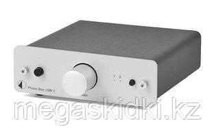 Фонокорректор Pro-Ject Phono Box USB V DC Серебро