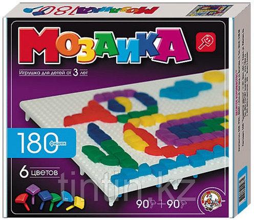 Мозаика 180 фишек 2 видов. 6 цветов., фото 2