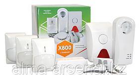 Комплект беспроводной охранной сигнализации «X-801»