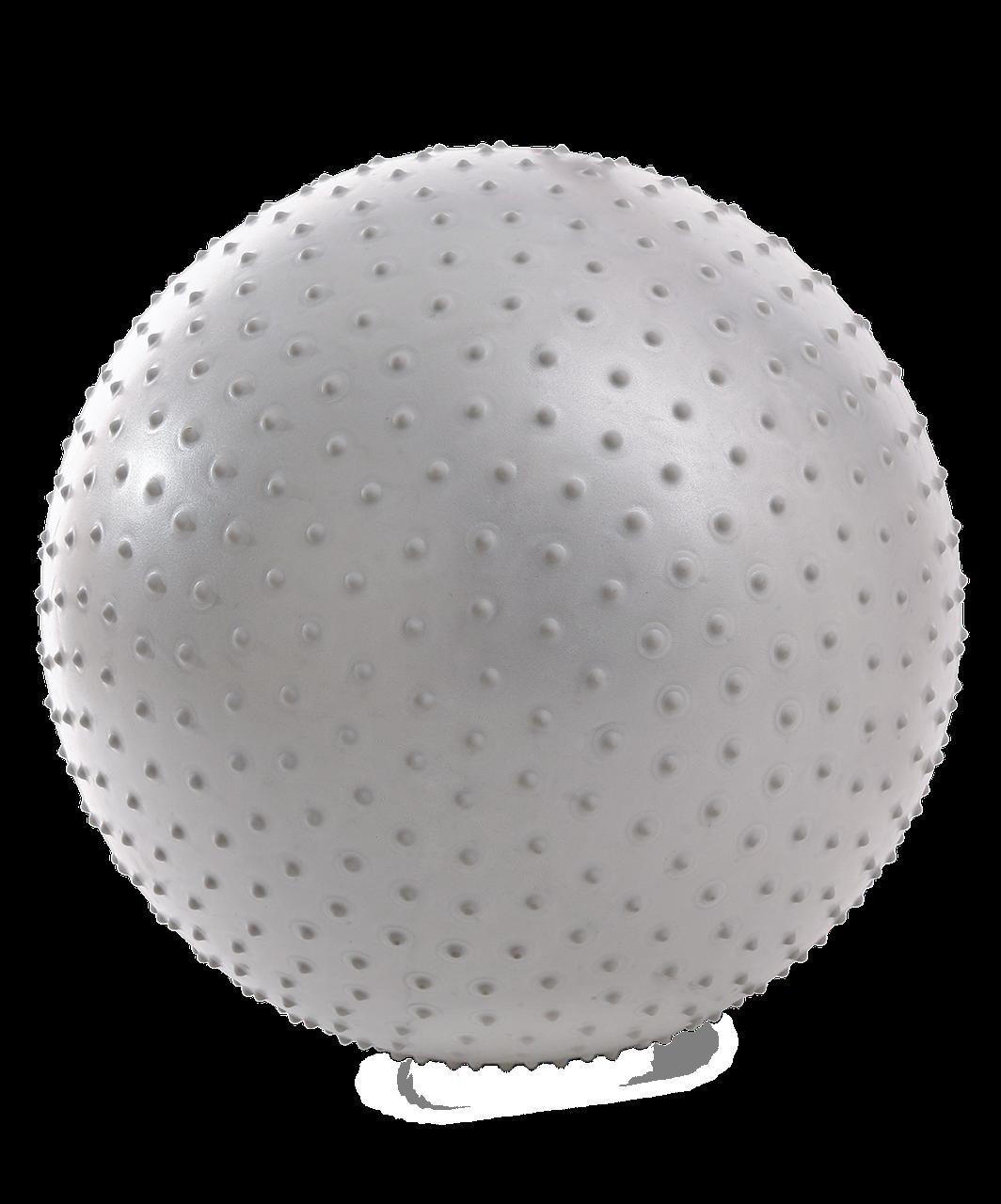Фитбол массажный Core GB-301 антивзрыв, тепло-серый пастельный, 75 см Starfit