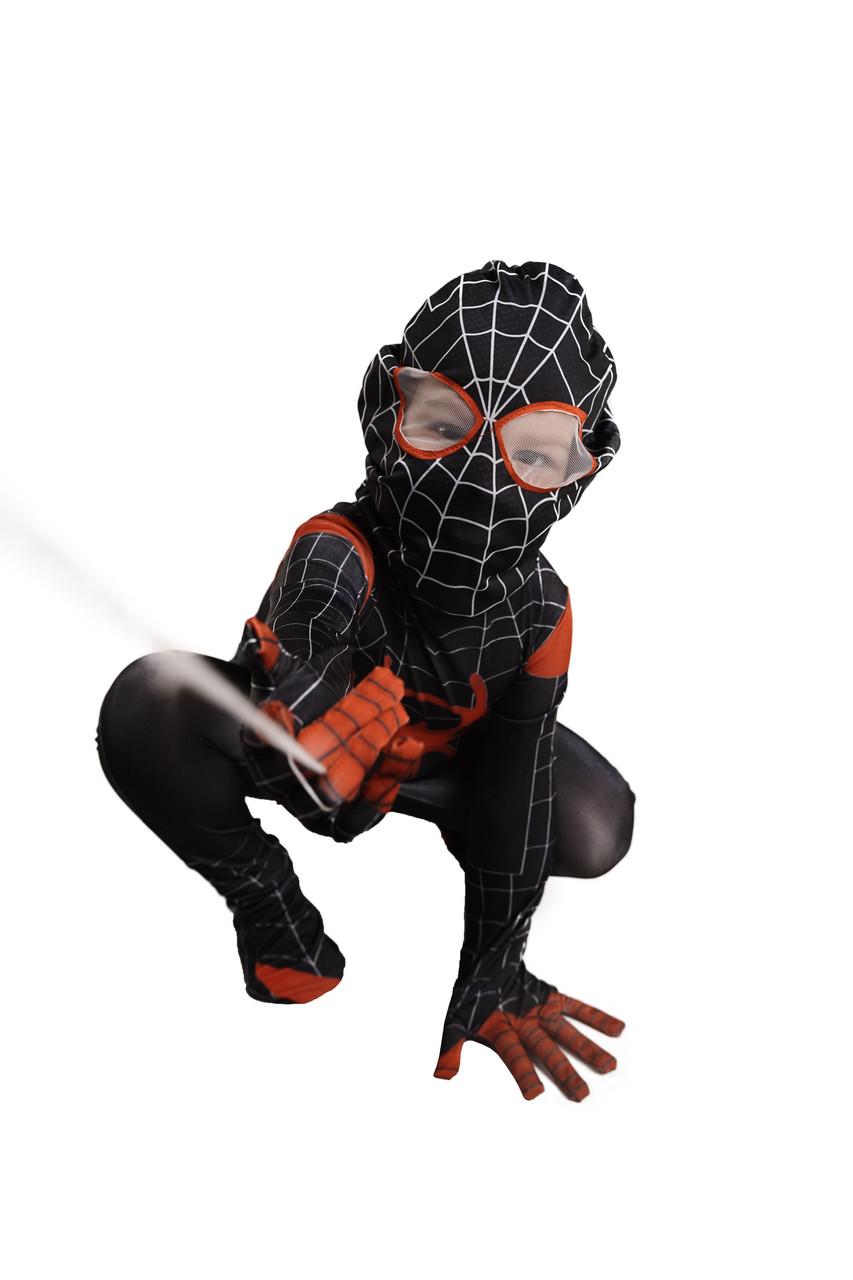 Костюм Черный человек паук, M (110-120)