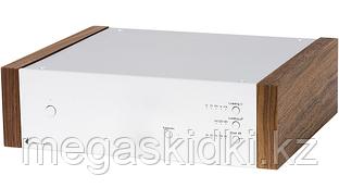 Фонокорректор Pro-Ject Phono Box DS2 Серебро-орех