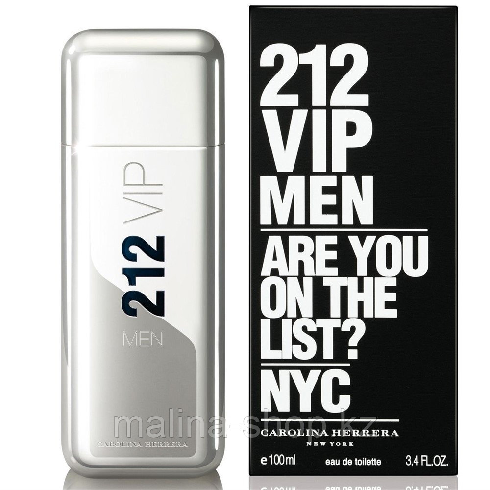 Духи мужские Carolina Herrera 212 Vip Men (Каролина Эррера 212 ВИП Мен)