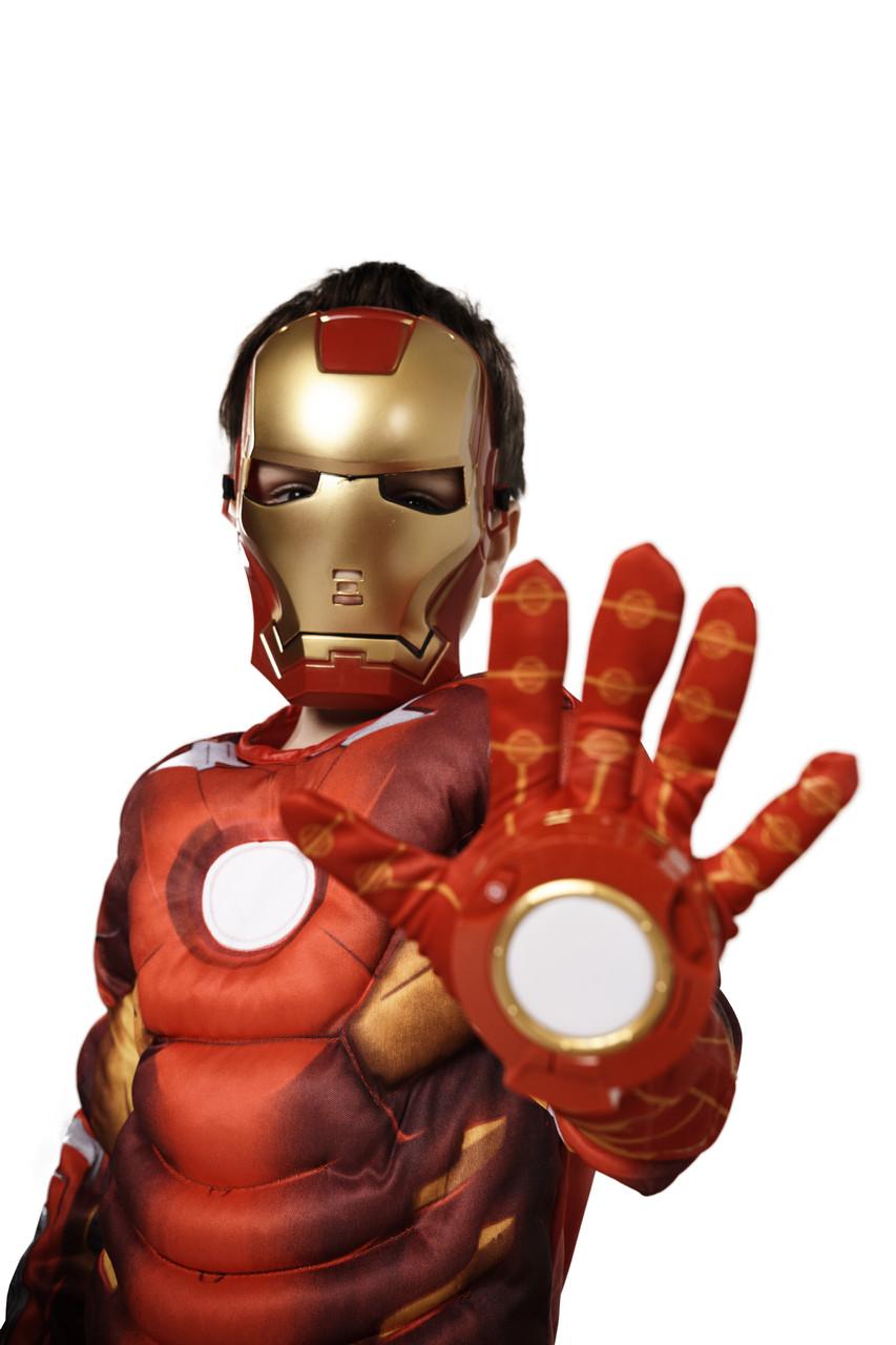 Костюм Железный человек(+перчатка), M (110-125)