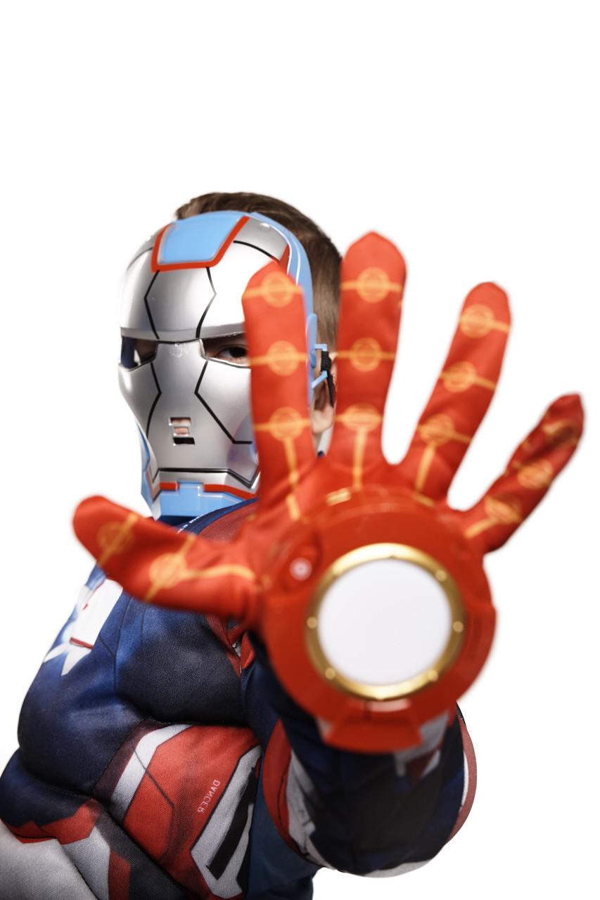 Костюм Железный человек 2(+перчатка), S (95-110)