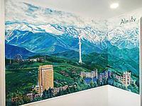 Роспись стен дома