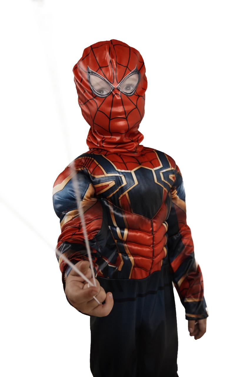 Костюм Человек паук, M (110-125)
