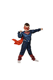 Костюм Супермен, M (110-125)