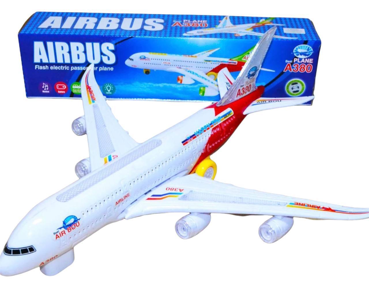 8630 Airbus А380 Самолет 43*10см