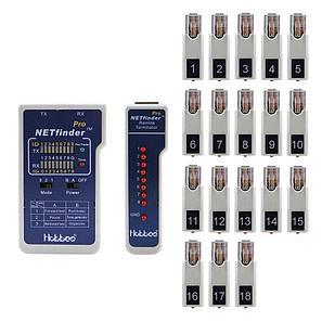 Hobbes NETfinder Pro -кабельный тестер с 18 идентификаторами, фото 2