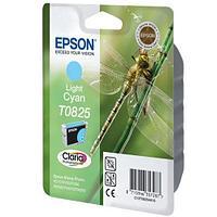 Картридж Epson C13T11254A10 (0825) R270/290/RX590 светло-голубой