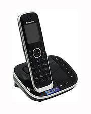 Радиотелефон PANASONIC KX-TGJ320RUB Black-silver