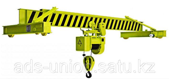 Кран мостовой электрический однобалочный опорный 1т, 2т, 3,2т, 5т, 10т