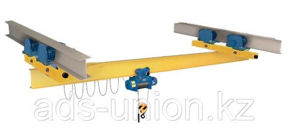 Кран мостовой электрический однобалочный подвесной 1т, 2т, 3,2т, 5т, 10т, фото 2