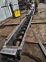 Производство шнэков в Караганде (шнэковый винтовой конвейер), фото 2
