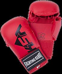 Накладки для карате Kick Red, к/з KSA