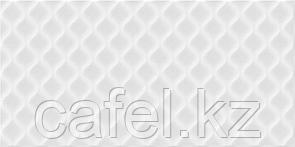 Кафель   Плитка настенная 30х60 Деко   Deco белый рельеф