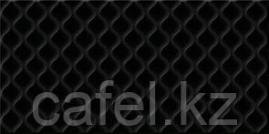 Кафель   Плитка настенная 30х60 Деко   Deco черный