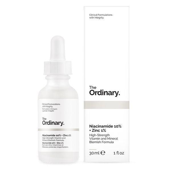 The Ordinary Сыворотка для проблемной кожи Niacinamide 10% + Zinc 1% High Strength Vitamin and Mineral Blemish