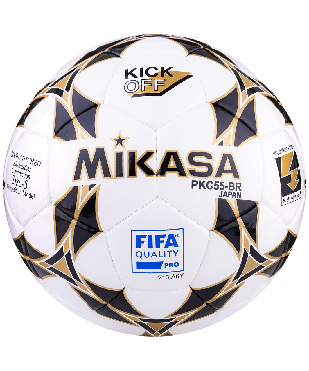 Мяч футбольный PKC 55  FIFA №5 Mikasa