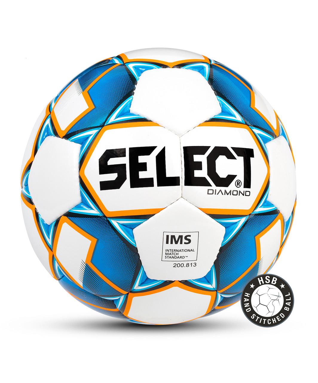 Мяч футбольный DIAMOND ,№5,  Select
