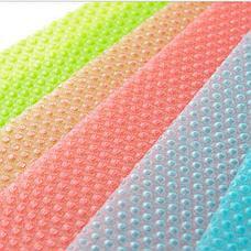Антибактериальные коврики для холодильника 4 шт. цвет голубой, фото 3